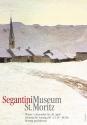 Werbeplakat Wintersujet Segantini Museum St. Moritz