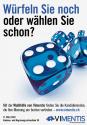 Werbeplakat vimentis, St. Gallen